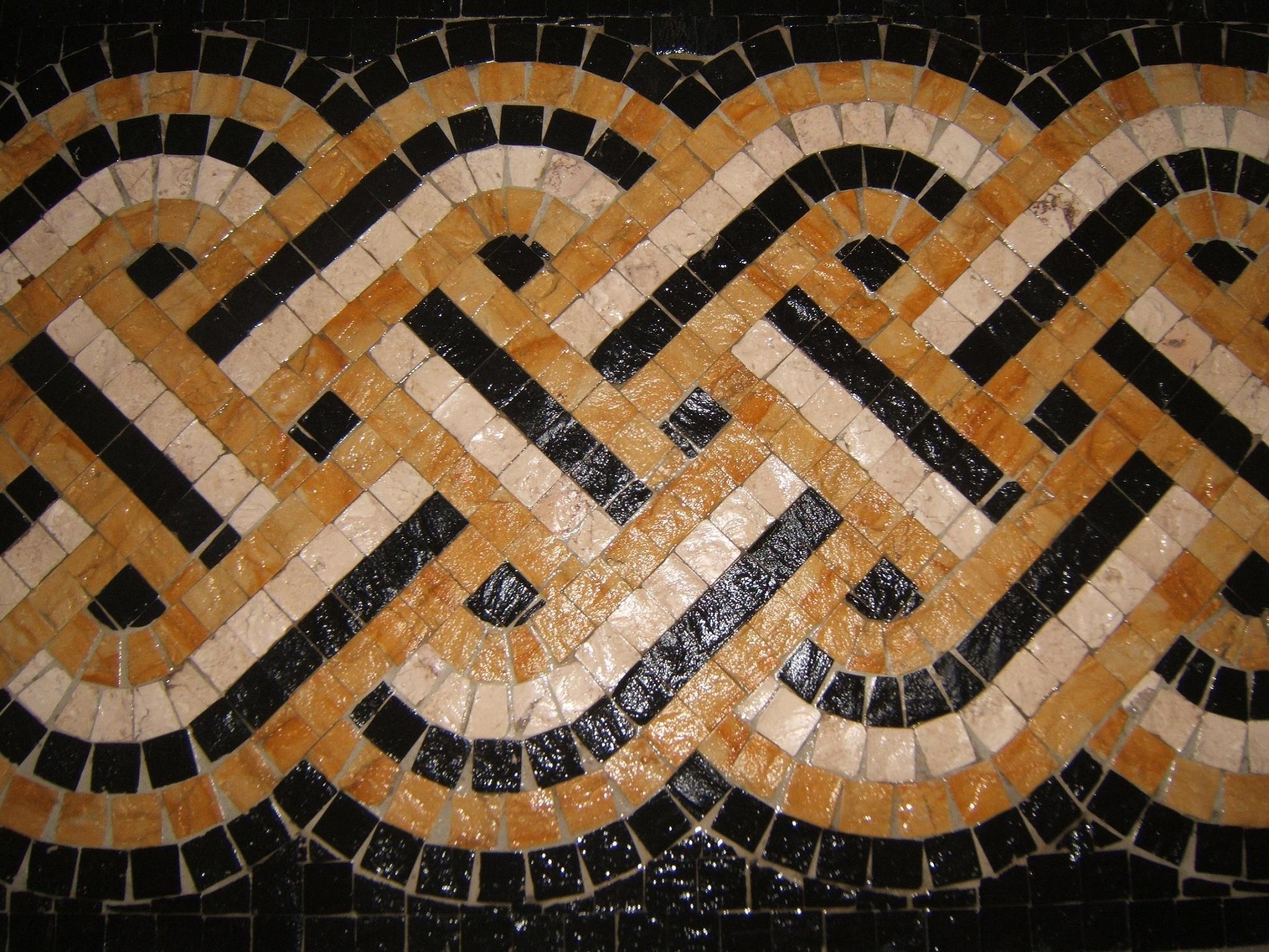 Mosaique de pavement for Comment coller de la mosaique